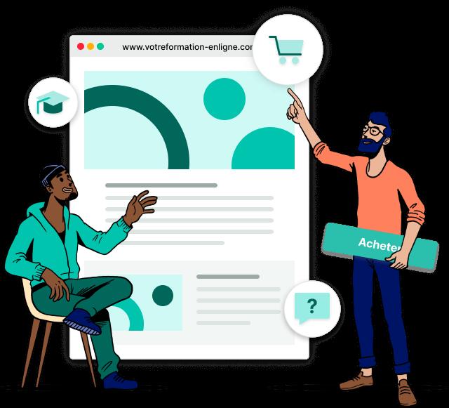 Vendre formations en ligne